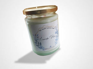 Handmade Candle Aromatherapy Eco Friendly Soy and Great for Anxiety and Depression and Smells Gorgeous!