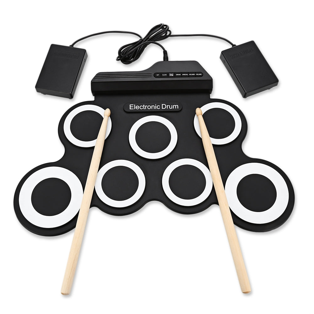 Portable Digital Drum Kit - Great Space Saver and Ideal for Home Schooling