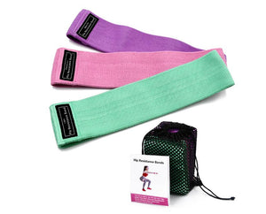 Three Set of Resistance Bands for Fitness