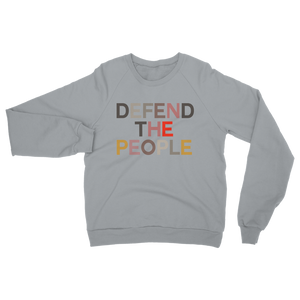 DEFEND THE DEFEND THE PEOPLE SWEATSHIRT IDEAL FOR SCHOOL RUN PEARLS & BEES