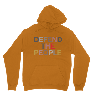 Defend the People Adult Hoodie