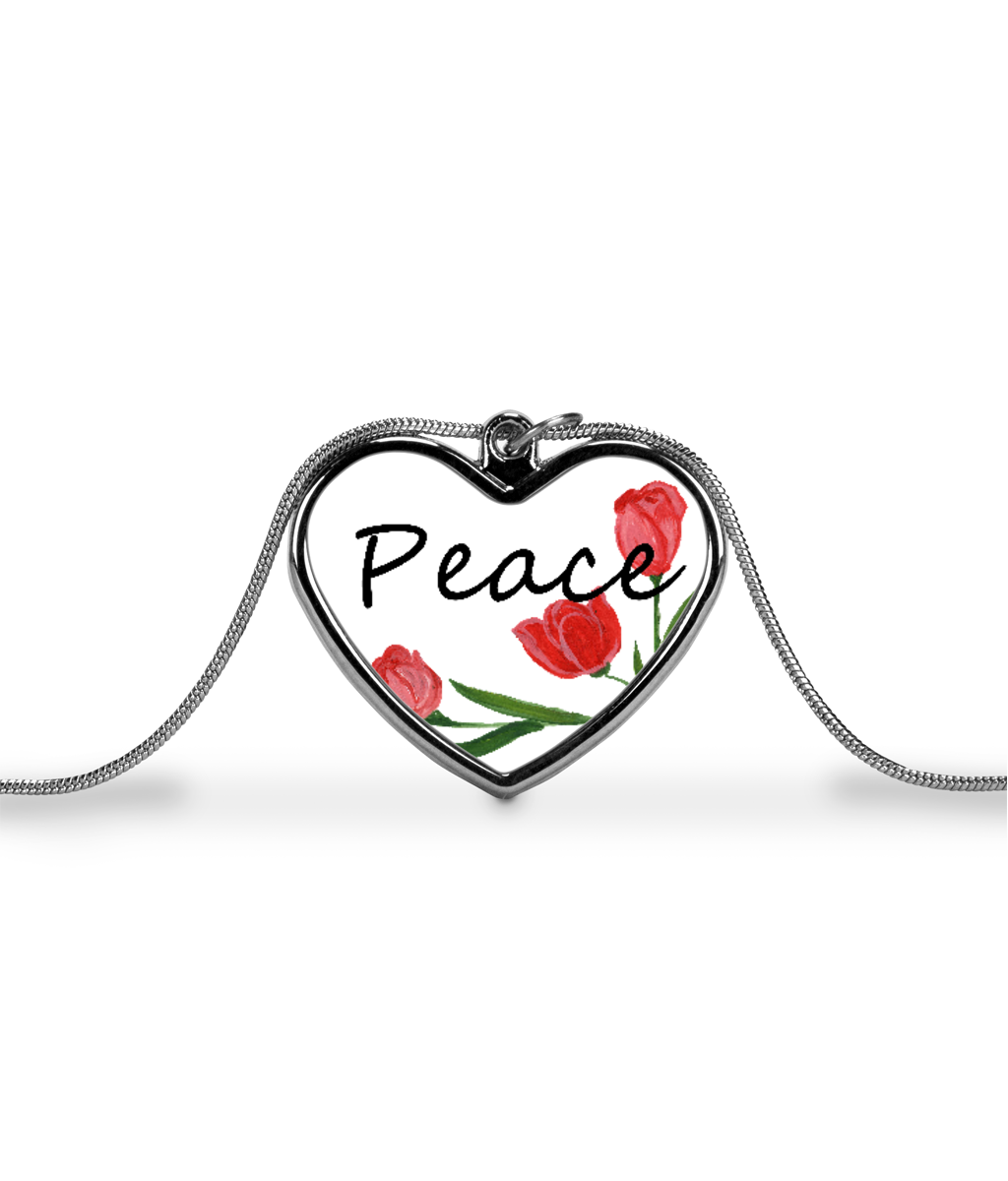 Peace Heart Chain for Mental Wellness