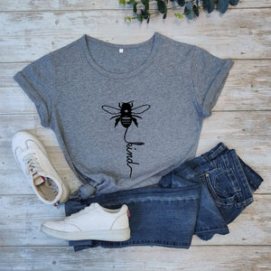 Bee Kind T-shirt For Mental Health