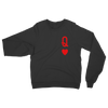 Queen Heart Card Sweatshirt