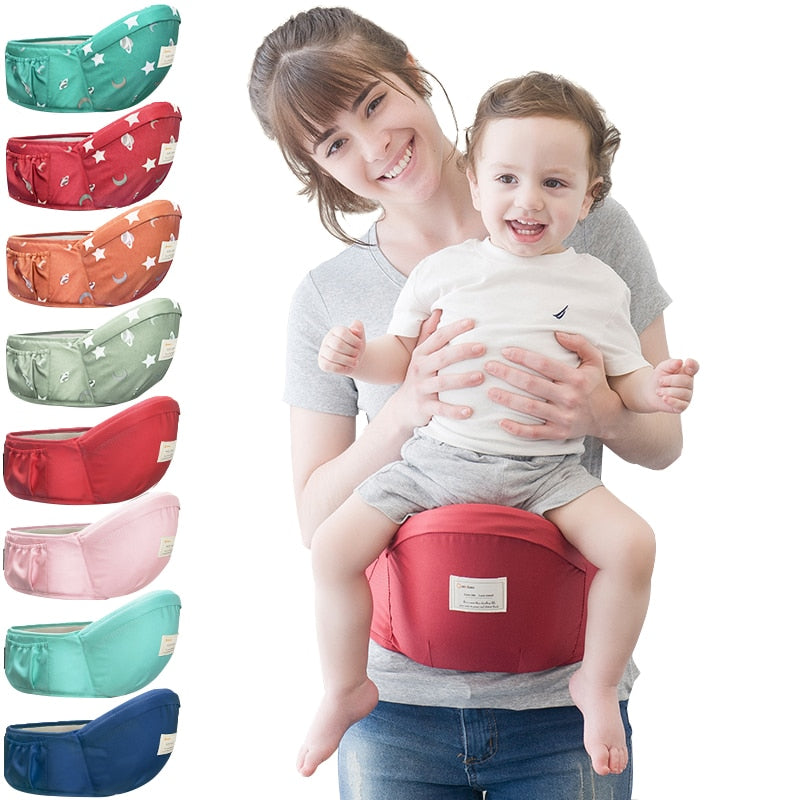 Luxury Baby Waist Carrier Sling Holdall Stool