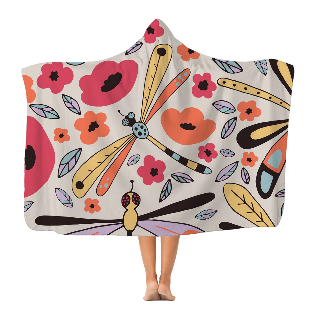 Gorgeous Premium Hooded Blanket For Anxiety, Adults and Children