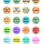 Stickers for Anxiety and Depression - Reward Therapy