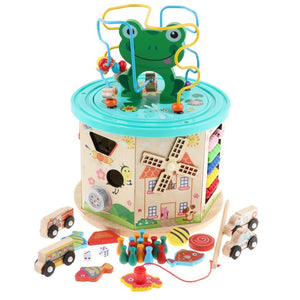 Activity Station for Deep Learning and Play For Tactile, Spatial, and Fine Motor Skills