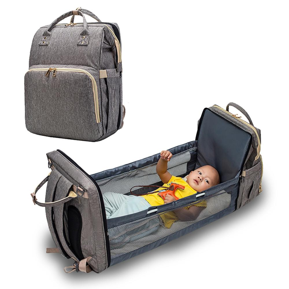 Maternity/ Nappy / Diaper Bag and Cot / Bed in One - Pinics, Camping, Travel, Visiting Family