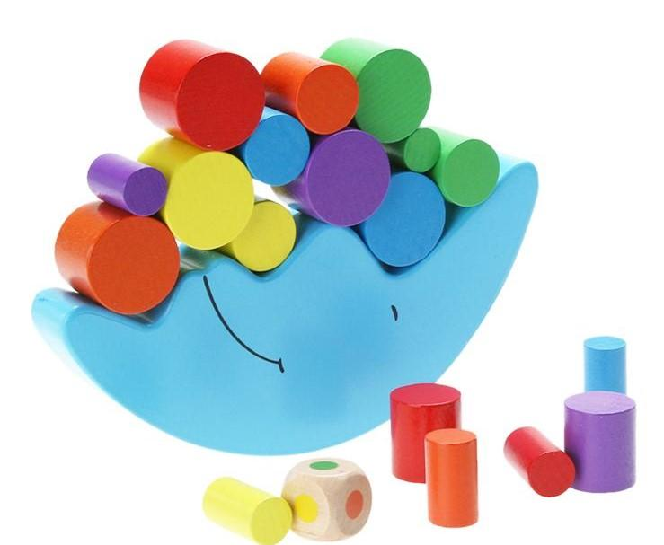 Balance and Colour Wooden Educational Game