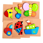 Colourful Fit Together Problem Solving Toy for Babies and Toddlers