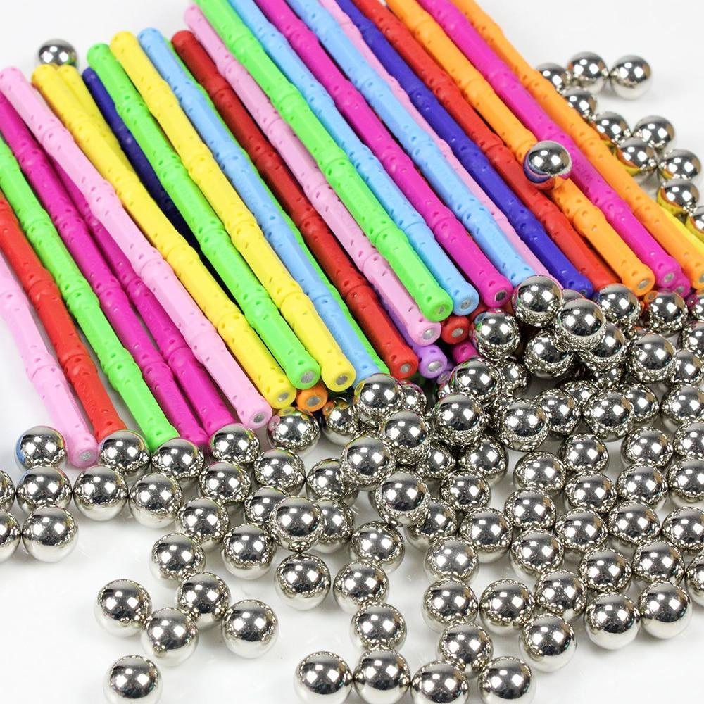 Colourful Magnetic Sticks for Teens and Older Children  - Great for ADHD and Anxiety Challenges