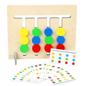 Colourful Problem Solving Reasoning Game For Bright Children
