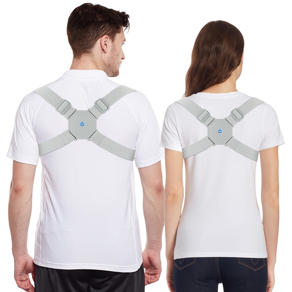 Smart Electric Posture Trainer - Buzzes when you do not posture correctly