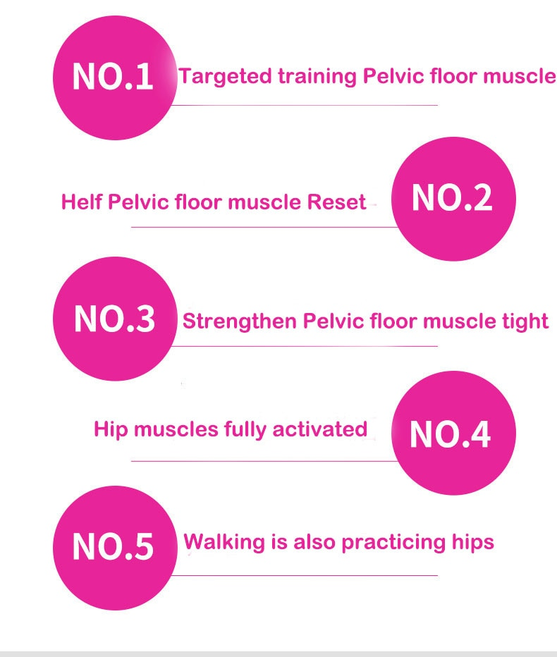 Pelvic Floor Muscle Inner Thigh Trainer