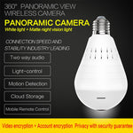 Panorama Camera Security Lamp  and CCTV Video Wireless Ip Camera Surveillance Fisheye HD Camera