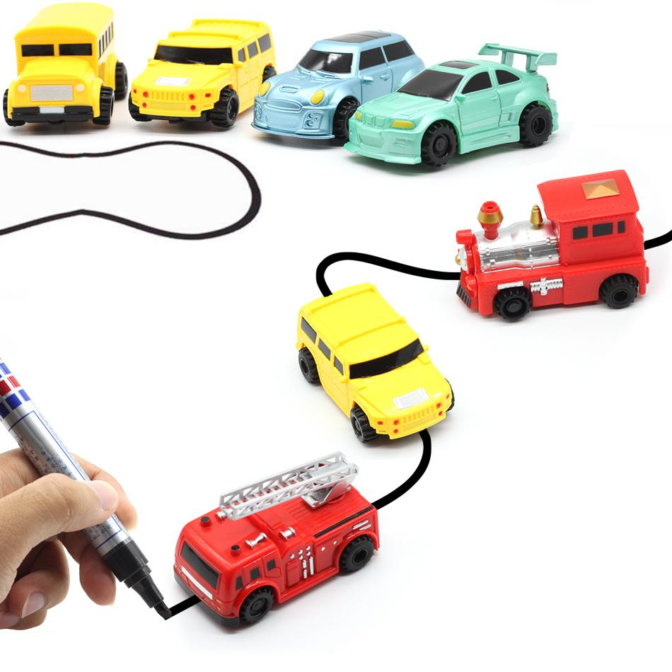 Draw Along Tactile Educational Car Toy