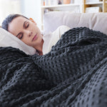 Weighted therapy gravity blanket for mental health issues - ADHD, Autism, Depression, Anxiety, Insomnia and Restless Leg Syndrome
