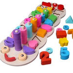 Numbers, Colours, Shapes Recognition Retention and Repeat Educational Toy