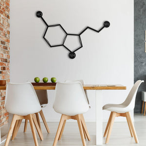 Chemically Happy Metal Wall Art