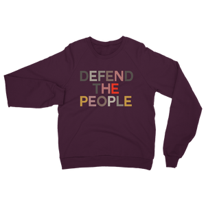 DEFEND THE DEFEND T DEFEND THE PEOPLE SWEATSHIRT IDEAL FOR SCHOOL RUN PEARLS & BEES