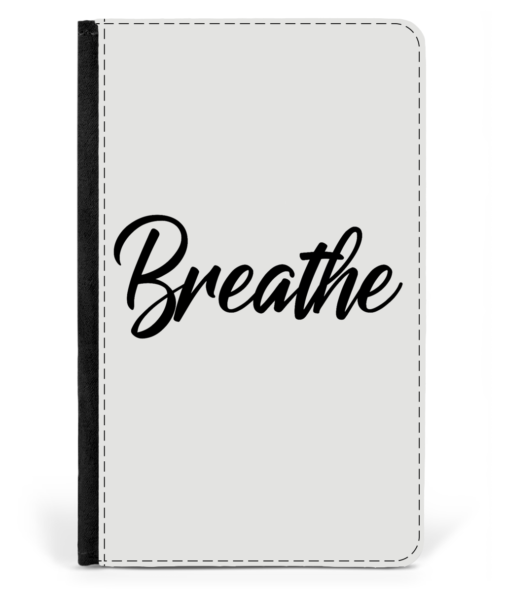 Animal Friendly  Faux Leather Breathe Passport Holder