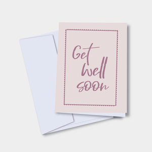 Get Well Soon - Mental Health Greeting Card