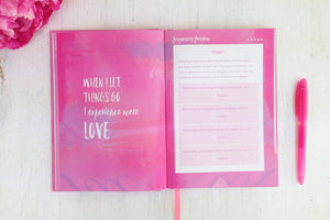 Luxury Self Care Mindfullness Journal