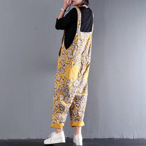 Women's Hand Crafted Loose Fitting Jumpsuit