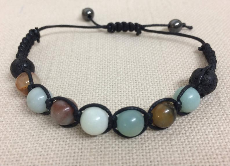 Inspire Your Inner Potential with Amazonite Stone Bracelet