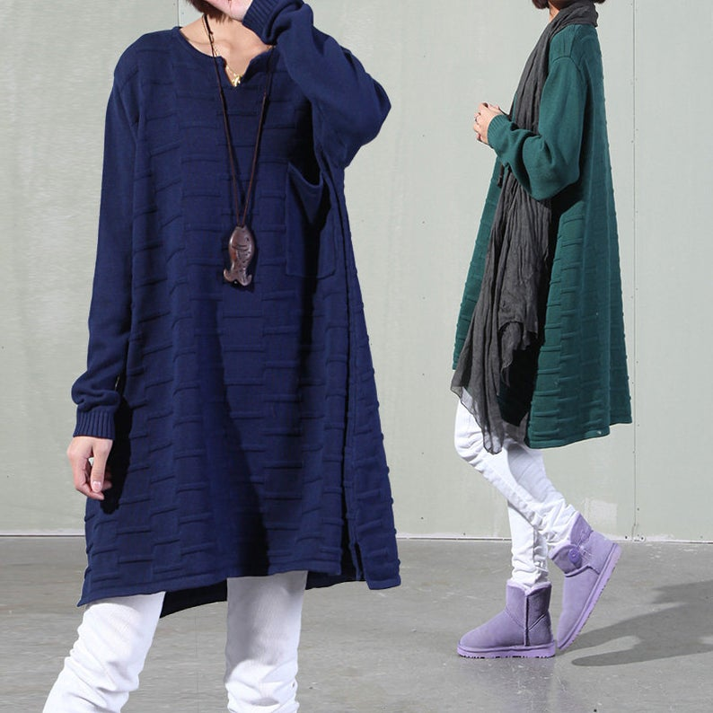Casual Loose Fitting Pullover Sweater Coat