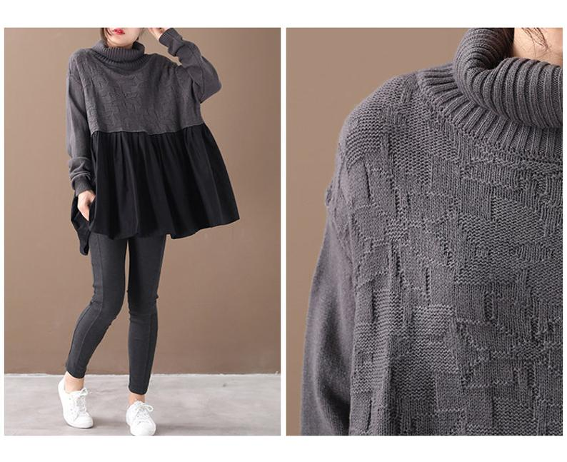 Casual Loose Sweater Top