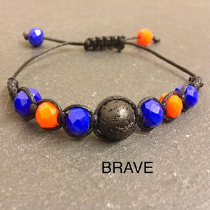 Teenager's Anxiety And Strees Bracelet - Idea for GCSE Exams, SATS, A-Levels, Degree, Tests, Bullying