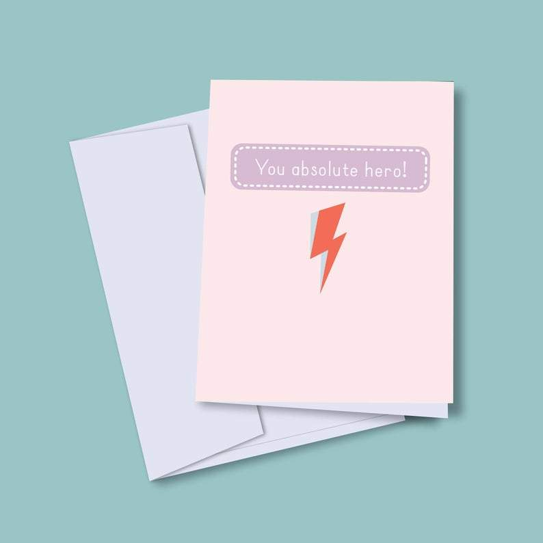 David Bowie Positive  Greeting Card For Good Friends