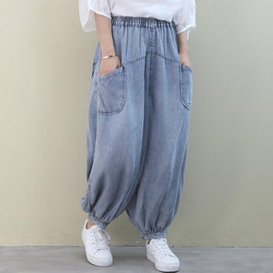 Loose  Cotton Jeans