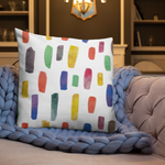 Colourful Cushion for Good  Mental Health - Colour Therapy