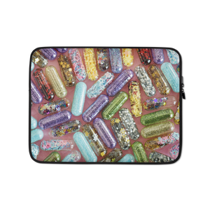 My Glitter Meds Laptop Sleeve
