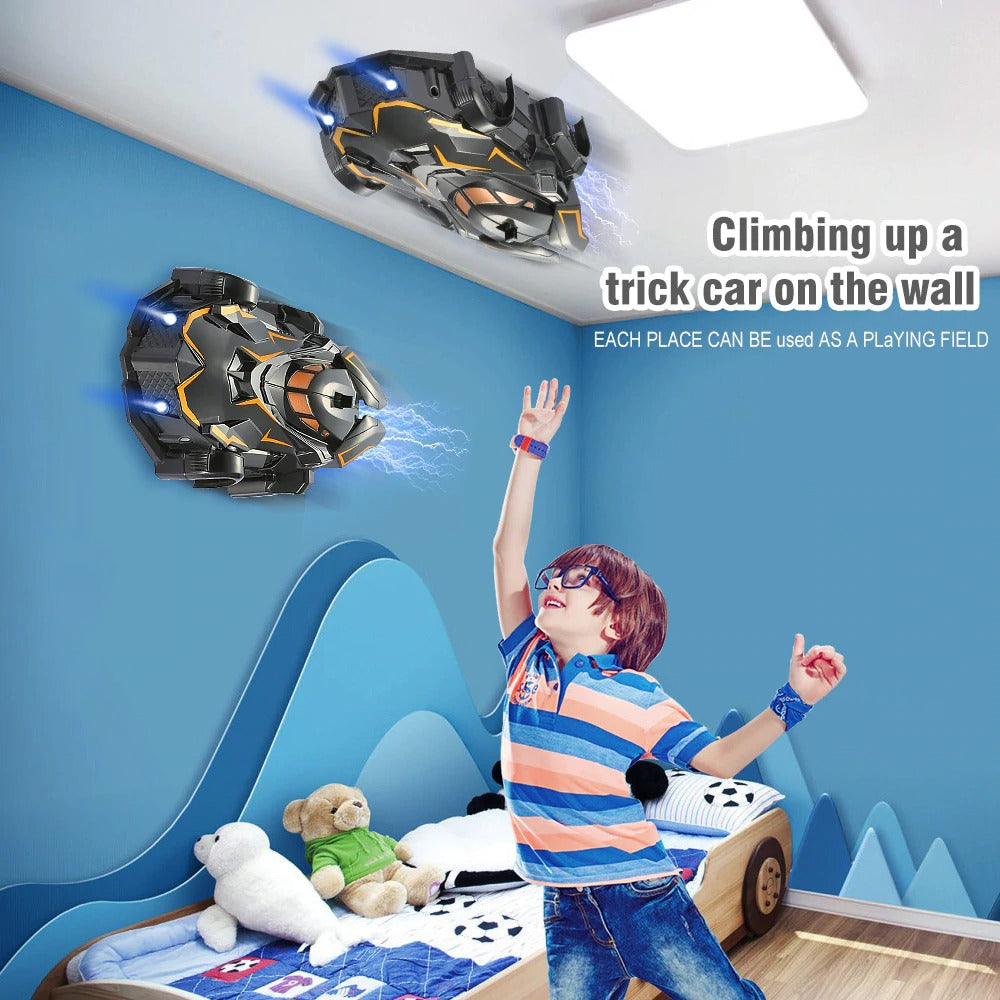 Remote Control Anti Gravity Ceiling Wall Climbing Racing Car
