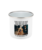 Personalised Pet Enamel Mug 10oz - Ideal Gift
