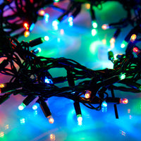 Guirlande Lumineuse Raccordable 100 LED Multicolores 10m