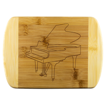 Load image into Gallery viewer, Cutting Board with Piano Design