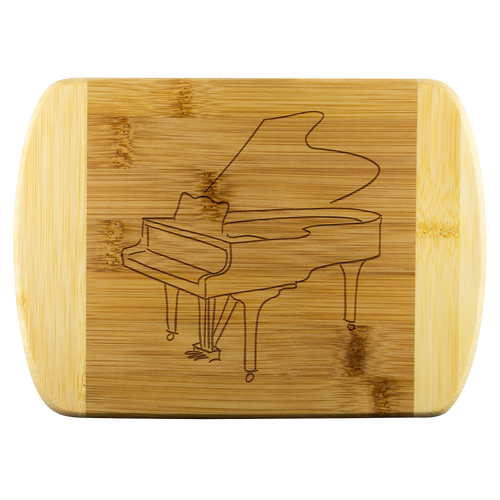 Cutting Board with Piano Design