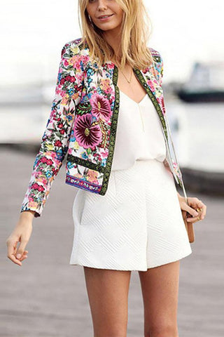 A National Print Cardigan Jacket