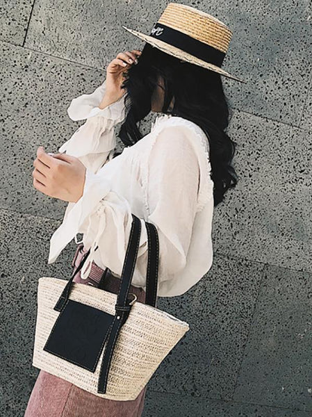Must Have Vocation Fashion Straw Bag