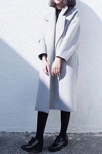 Winter Fashion Double Side Cashmere Coat