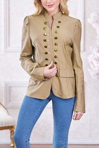 fashion leisure long-sleeved jacket small suit