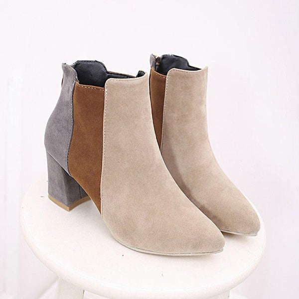 Autumn And Winter Fashion Matching Martin Boots