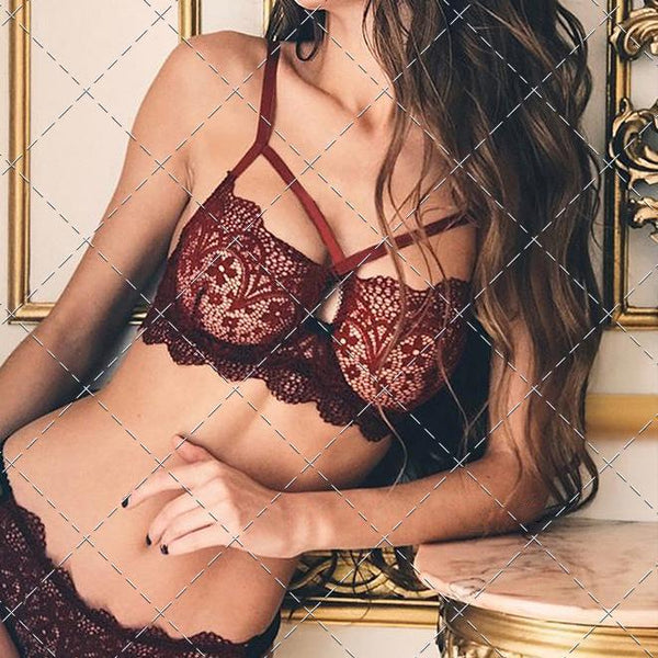 Sexy Lace Cross-Lacing Sexy Lingerie
