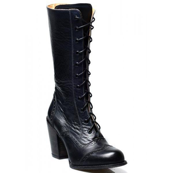 Fashion Women Winter Leather High Boots