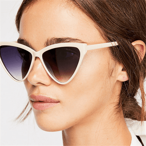 Fashion retro triangle personality sunglasses